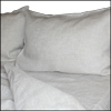 Linen duvet cover set, oatmeal