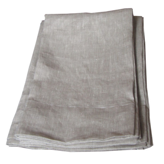 Linen pillowcase, oatmeal