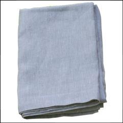 Linen sheet, oatmeal, 100% linen